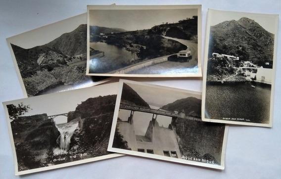 Lote 5 Foto Postales Obra Arquitecto Bialet Masse Circa 1939