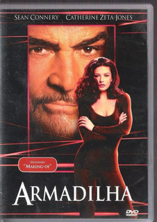 Dvd Filme Armadilha - Sean Connery / Catherine Zeta-jones