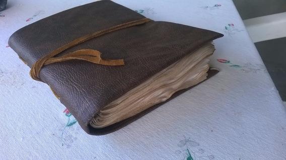 Sketchbook Old, H Potter, Folhas Envelhecidas 200 Pág Marrom