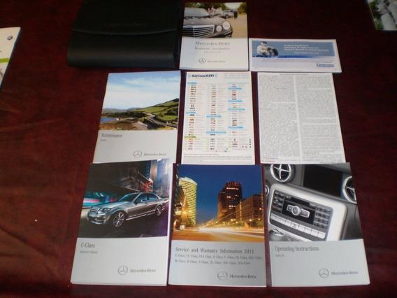 Manual Mercedes Benz W204 C180 C200 C230 C280 C350