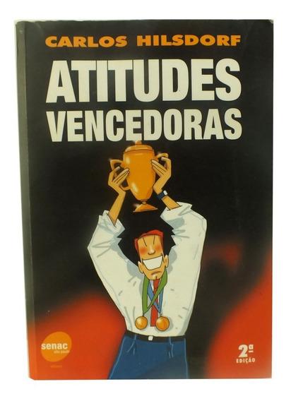 Livro Físico Atitudes Vencedoras De Carlos Hilsdorf B5931
