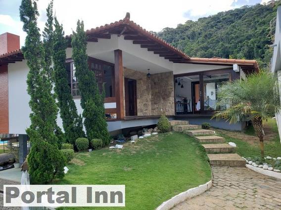 Casa Para Venda Em Teresópolis, Vale Do Paraíso, 5 Dormitórios, 4 Suítes, 5 Banheiros, 6 Vagas - 4024_2-806098