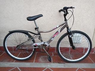 Bicicleta Musetta Viper Cromada. Rodado 24