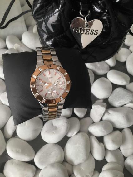 Hermoso Reloj Original Guess Para Dama