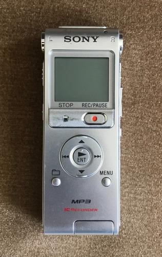 Gravador Digital De Voz Sony Ux200 Usb 2gb Mp3