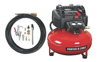 Porter-cable-c2002 Wk Sin Aceite Umc Pancake Compresor Con K