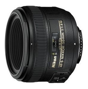 Lente Af-s Nikkor 50mm F/1.4g