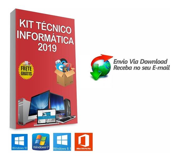 Kit Técnico Informática Formatação 28 Dvd,s Envio Digital