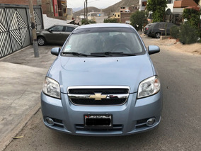 Chevrolet Aveo 2011 Dual Gasolina Glp Doble Airbag Full