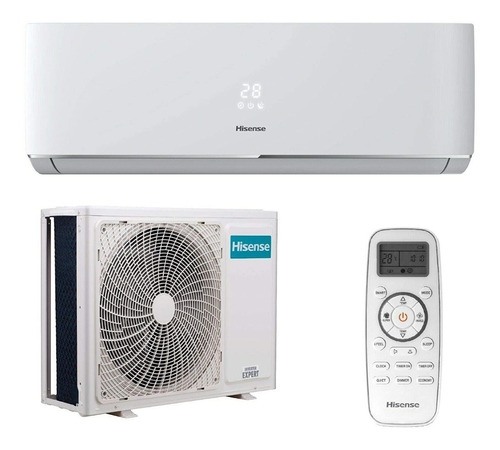 Aire acondicionado Hisense mini split inverter frío 12000BTU/h blanco 220V  AT122DB2 | Mercado Libre