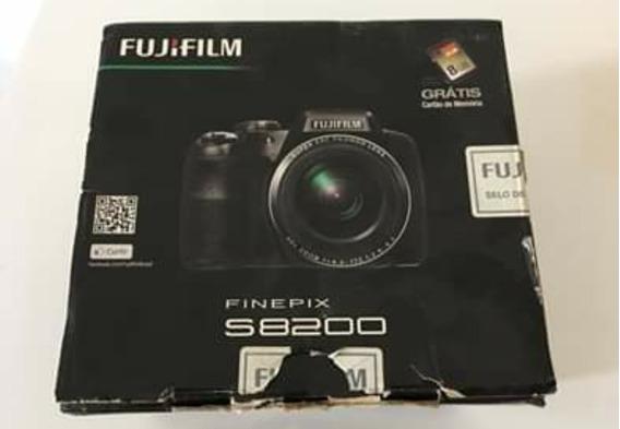 Maquina Semi Profissional Fujifilm S8200 - Muito Nova