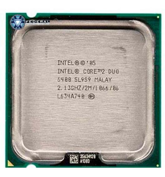 Processador Intel Core 2 Duo E6400 2m - 2,13 Ghz 1066 Mhz Sl9s9 - Usado
