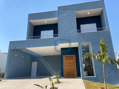 Casa Com 3 Dormitórios À Venda, 160 M² Por R$ 740.000,00 - Residencial Real Parque Sumaré - Sumaré/sp - Ca0493