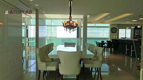 Imagem 1 de 21 de Cobertura Com 3 Dormitórios À Venda, 260 M² Por R$ 4.443.000,00 - Meia Praia - Itapema/sc - Co0179
