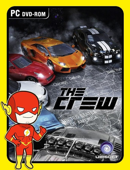 The Crew Pc - Uplay Key (envio Flash)