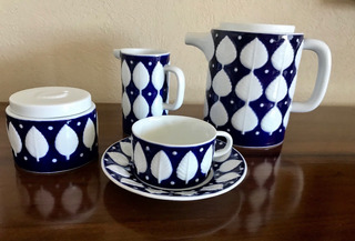 Porcelana De Sargadelos Vajilla Café/té Para 11 Personas