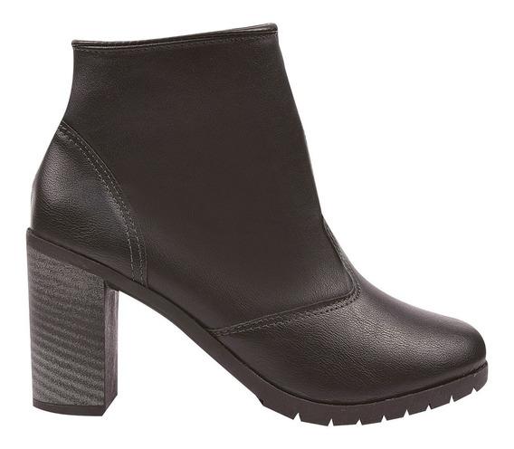 Bota Coturno Sapato Feminino Chiquiteira Chiqui/4004