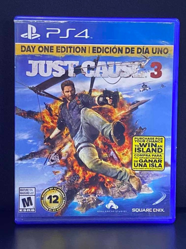 Just Cause 3 Ps4 Day One Edition Usado