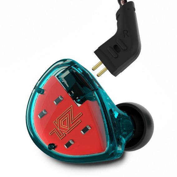 Fone In Ear Kz Es4 - Dois Driver