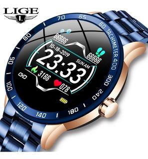 Relógio Lige Smartwatch Original Multifunções Prova Dág