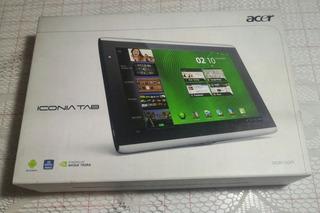 Acer Iconia Tab A500 Leer Descripcion