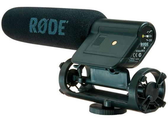 Microfone Rode Direcional Para Dslr Canon Nikon