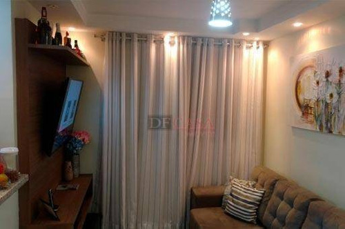 Imagem 1 de 20 de Apartamento Com 2 Dormitórios À Venda, 45 M² Por R$ 200.000,00 - Aricanduva - São Paulo/sp - Ap5186