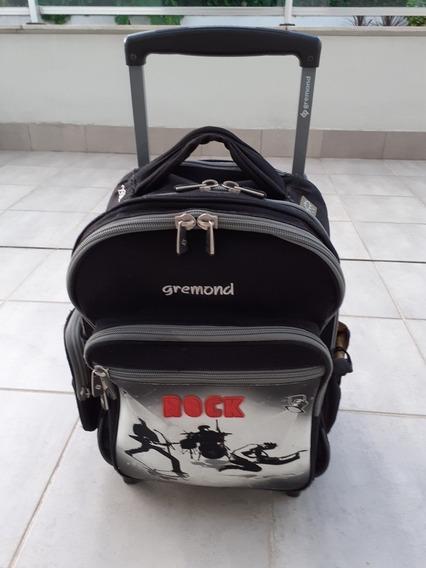 Mochila Gremond Rock Con Carro