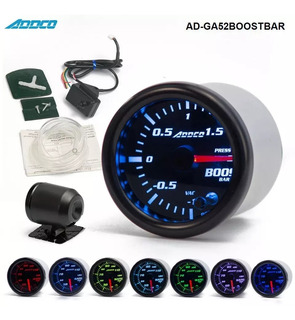 Medidor Boost Psi 7 Colores Turbo Addco Led Tuning