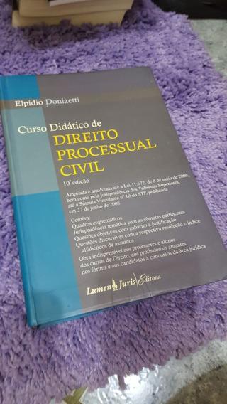 Curso Didático Direito Processual Civil