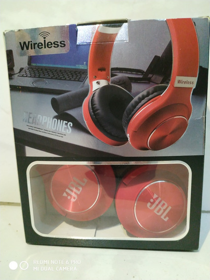 Fone De Ouvido Jbl Jb -995 Headphones Bluettoh Radio Sdcard