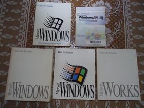 Manuais Windows3.1 / 98 E Works P/ Colecionadores Tecnologia
