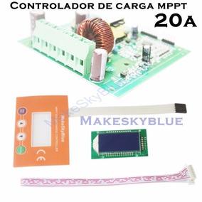Controlador De Carga Solar Mppt 20a Makeskyblue Mppt Real