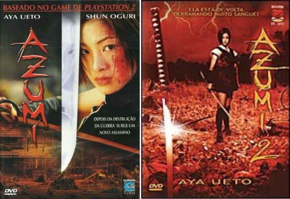 Dvds Originais Filme Azumi 1 E 2