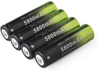 Bateria Recargable De 3,7 Voltios Ion/litio De 5800ma 18650