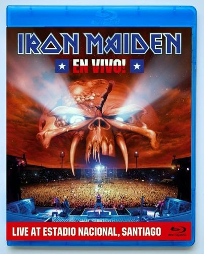Iron Maiden En Vivo! Live At Estadio Nacional Chile Blu Ray