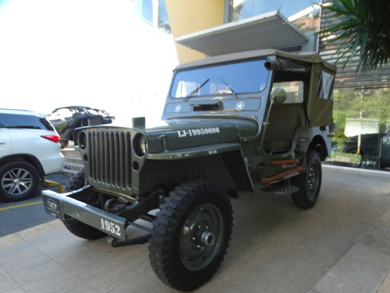 Jeep Willys Cj 1952
