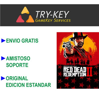 Red Dead Redemption 2 Pc Código Digital