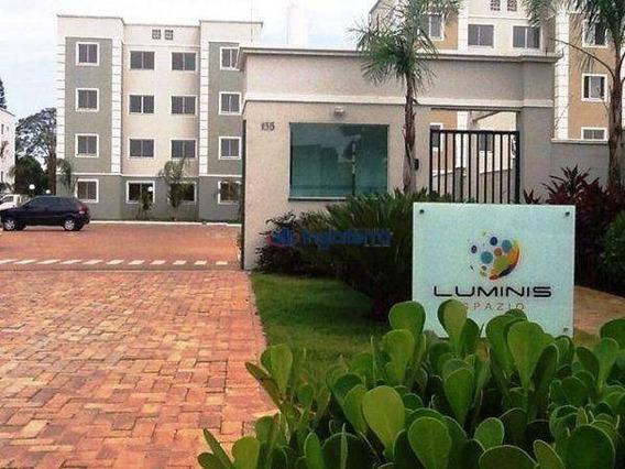 Apartamento Com 2 Dormitórios Para Alugar, 46 M² Por R$ 850,00/mês - Jardim Montecatini - Cambé/pr - Ap0855