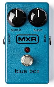Pedal Para Guitarra Dunlop Mxr Blue Box Fuzz