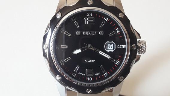 Relógio Masculino Original Pulseira De Couro Ou Aço + Caixa