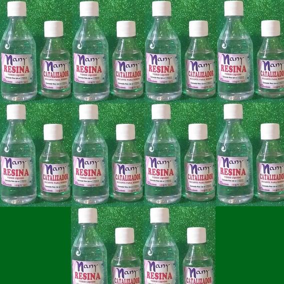 Vidrio Líquido Nany Escobedo Resina+catalizador Pack 10 Unid