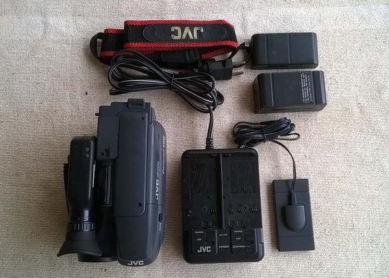 Filmadora Jvc Gr-ax30u Com Defeito E Acessórios