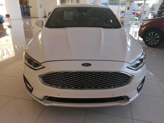 Ford Fusion Titanium Blanco 2020