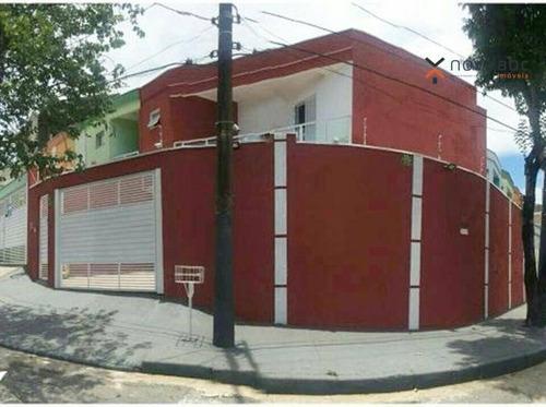 Sobrado À Venda, 78 M² Por R$ 450.000,00 - Parque João Ramalho - Santo André/sp - So0203