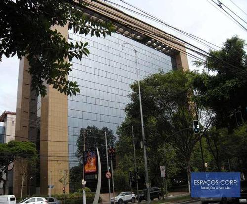 Laje Comercial Para Alugar, 442m² - Brooklin - São Paulo/sp - Lj0122