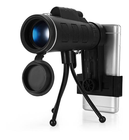 40x60 Monocular Telescópio Hd Prisma Escopo Com Bússola Tele