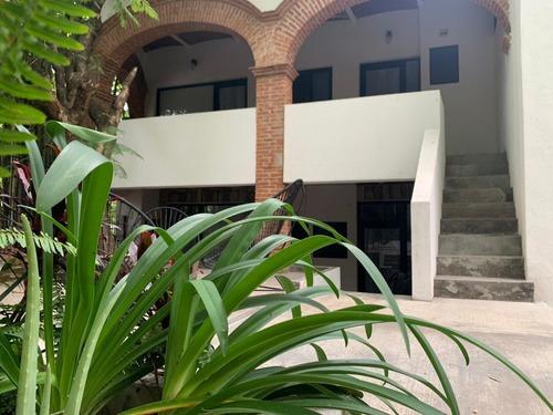 Departamento En Renta Totalmente Amueblado Y Con Jardín Loft Aldama