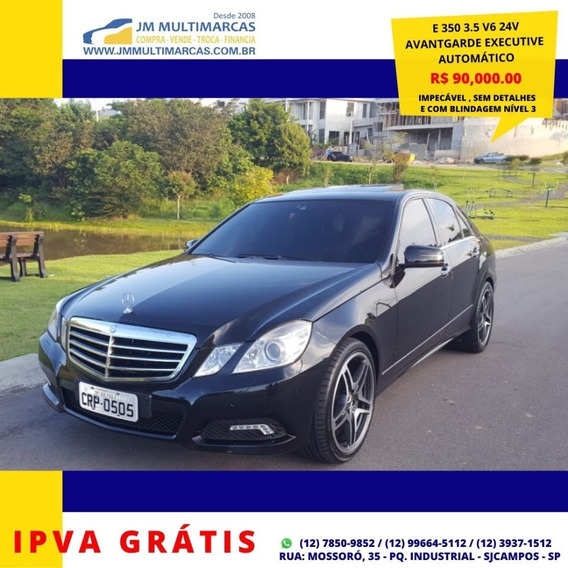 Mercedes-benz E 350 Avantgarde Executive 2010 Impecável