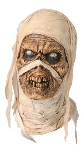 Imagen 1 de 1 de Máscara De Látex Evil Mummy Halloween Momia Terror
